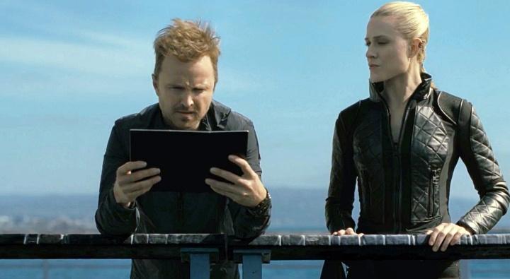 Caleb y Dolores. Westworld 3