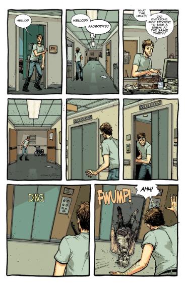 the walking dead deluxe páginas