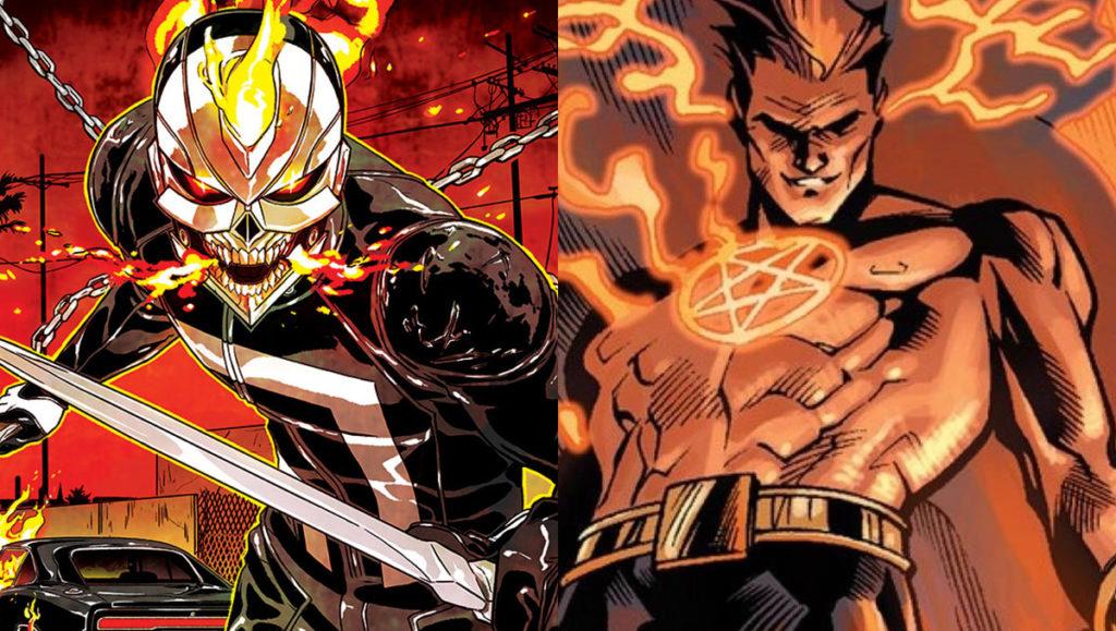 Hellstrom y Ghost Rider
