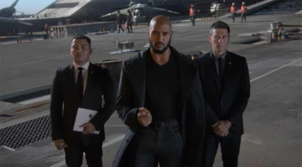 Mack - Nick - Fury - Agents of SHIELD