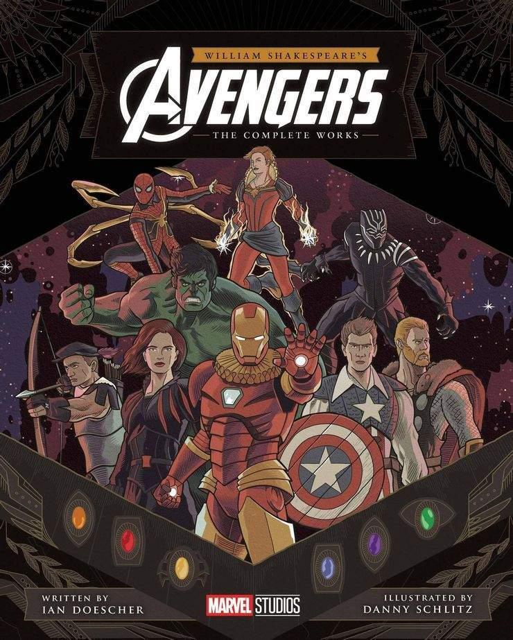 Vengadores-William-Shakespeare-Obras-Completas-Marvel