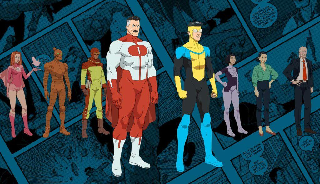 Invencible es la mejor adaptación de un cómic de superhéroes