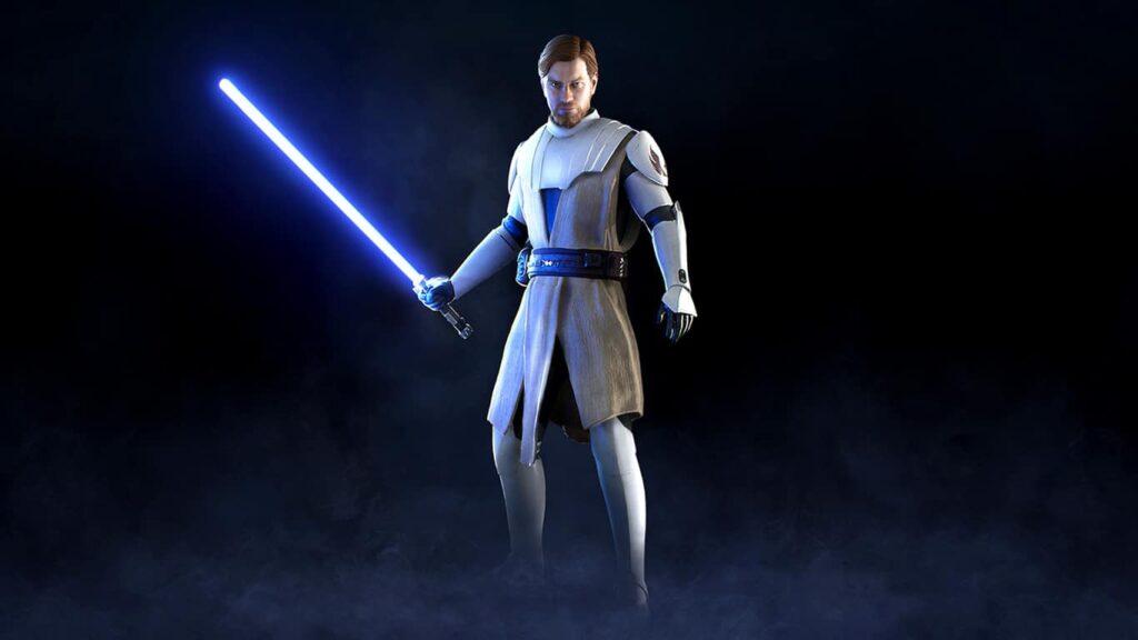 Skin de Obi-Wan Kenobi en el videojuego Battlefront II.