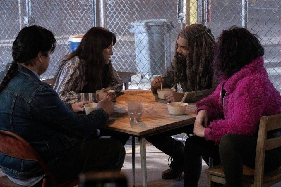 Ezekiel-Yumiko-Eugene-Juanita-The-Walking-Dead-Temporada-11